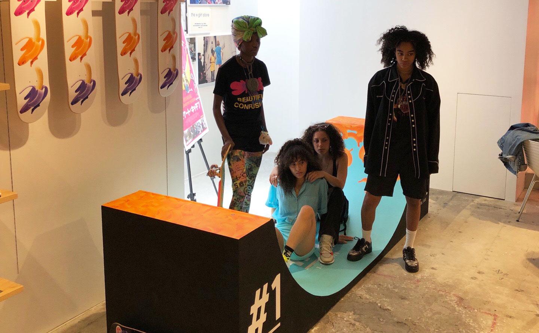 X-girl × Skate Kitchen
